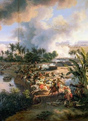 Battle of the Pyramids, 21st July 1798, detail of the Rout of the Mameluke Cavaliers, 1806