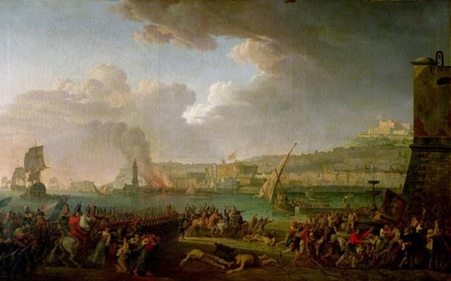The French Army Entering Naples Under the Command of General Championnet