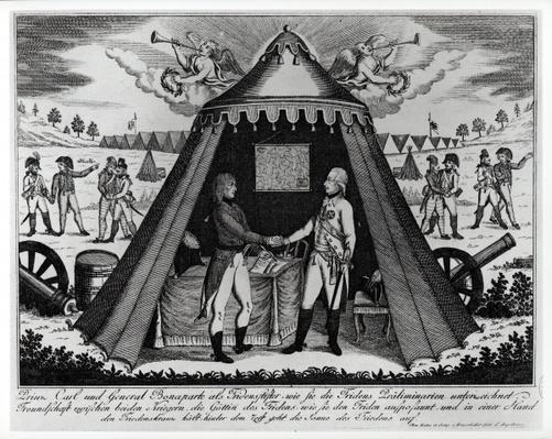 The Treaty of Campo Formio, 18th October 1797