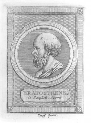 Portrait of Eratosthenes