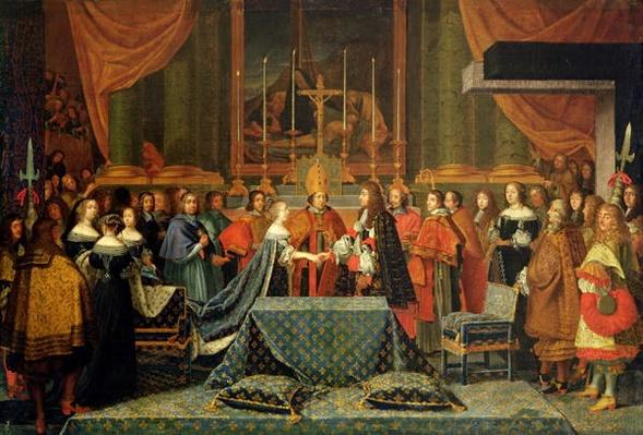 Celebration of the Marriage of Louis XIV
