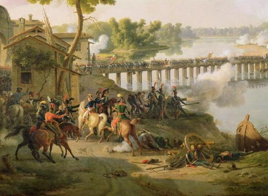 The Battle of Lodi, 10th May 1796, detail of Napoleon