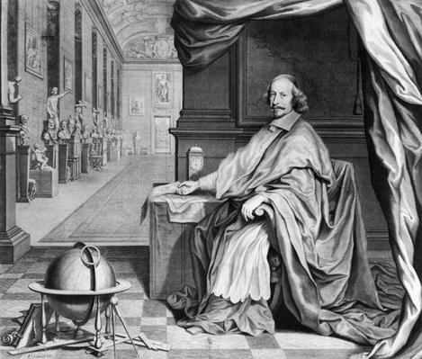 Portrait of Cardinal Mazarin
