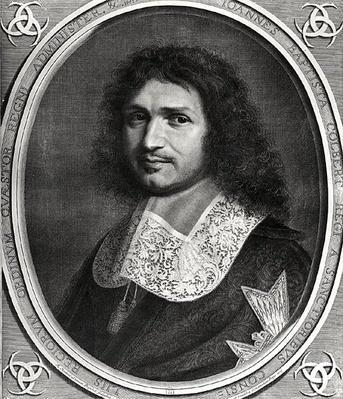 Portrait of Jean Baptiste Colbert