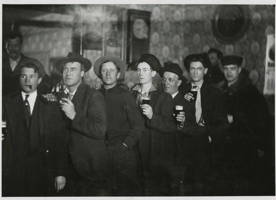 Men in Gardner's Saloon, Holton, Wisconsin | Ken Burns & Lynn Novick: Prohibition