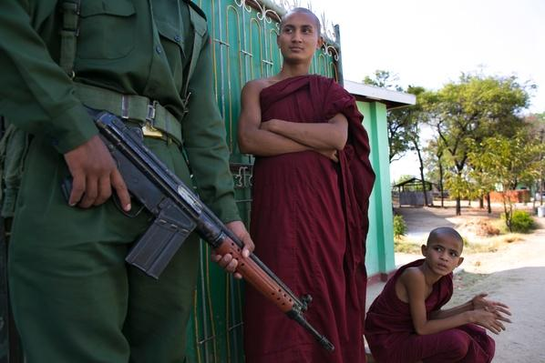 Tensions High In Central Burma After Sectarian Violence | Conflicts: Burma