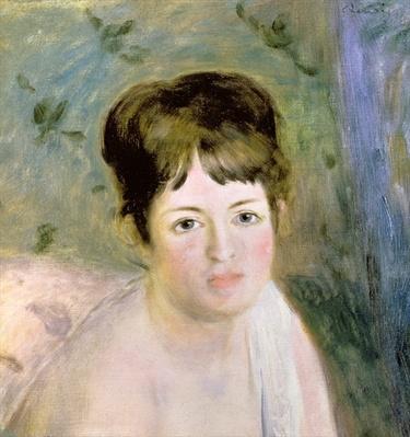 Woman's Head, c.1876