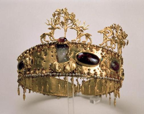 Ivory Mirror Case, c.1360-70