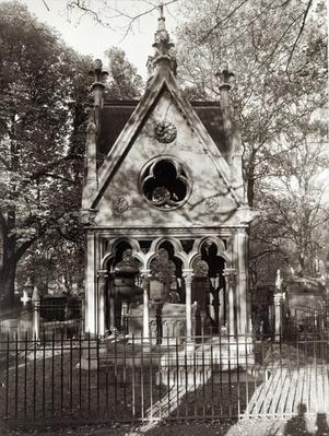 The Tomb of Abelard and Heloise, built in 1817