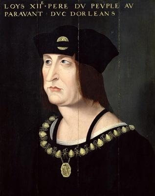 Portrait of Louis XII