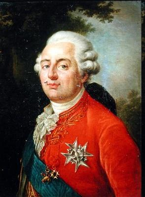 Portrait of Louis XVI