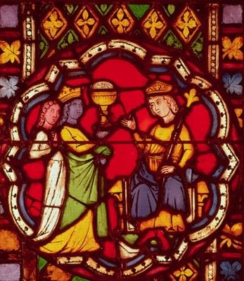 King Solomon and the Queen of Sheba, c.1270