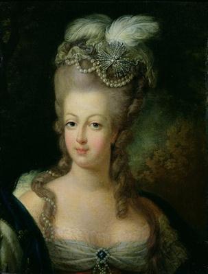 Portrait of Marie-Antoinette de Habsbourg-Lorraine