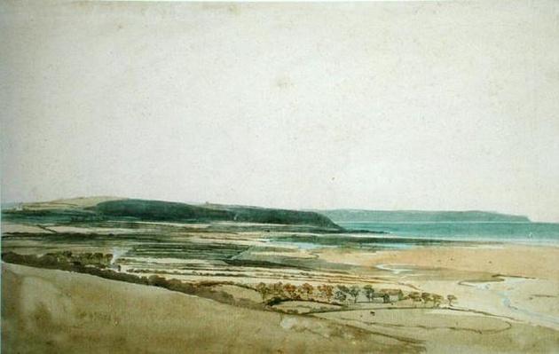 Estuary of the River Taw, Devon, c.1801