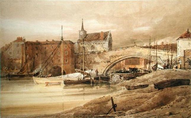 Ouse Bridge, York, 1800