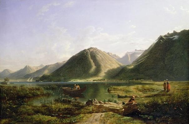 End of Lake Geneva, 1835