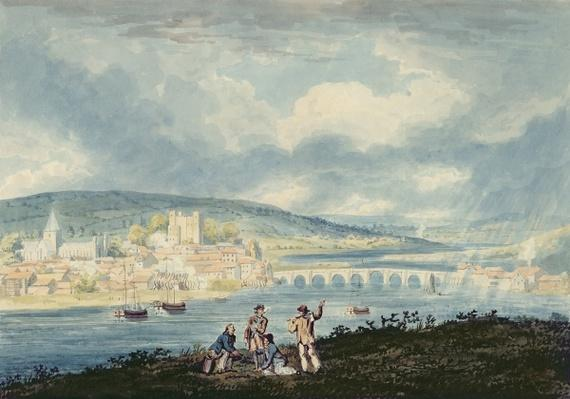 Rochester, from the North, c.1790