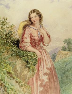 A Country Girl, 19th century