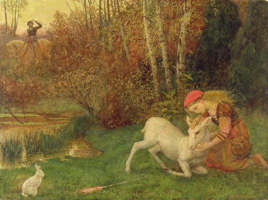 The White Hind, c.1870
