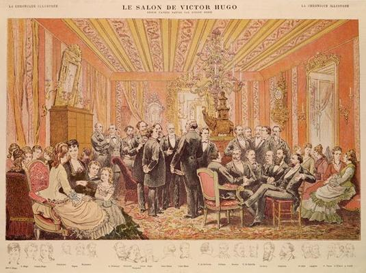 The Salon of Victor Hugo