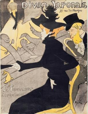 Poster advertising 'Le Divan Japonais', 1892
