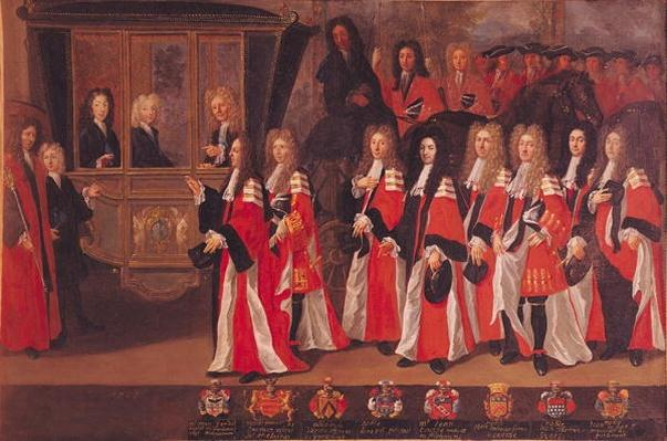 The Entry of Louis of France