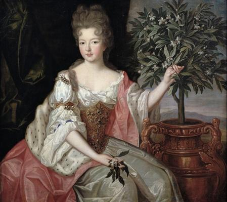 Portrait of Francoise Marie de Bourbon