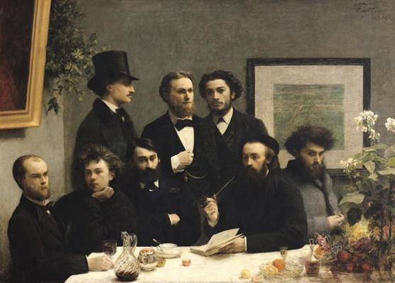 A Corner of the Table, 1872