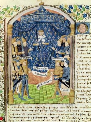 Ms 1151 f.1 Charles VII