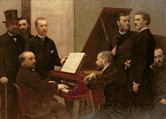 Around the Piano, 1885