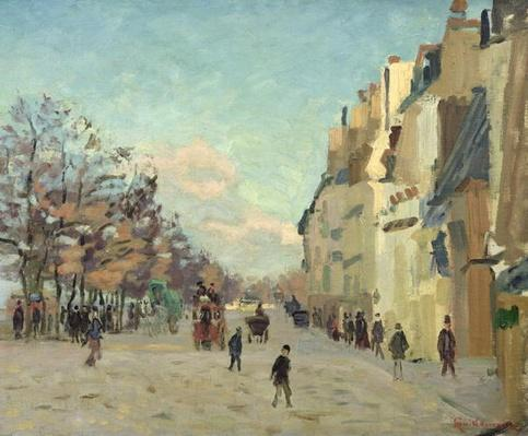 Paris, Quai de Bercy, Snow Effect, c.1873-74