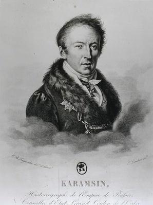 Portrait of Nikolai Mikhailovich Karamzin