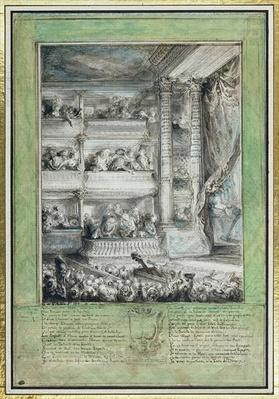The Crowning of Voltaire at the Theatre Francais