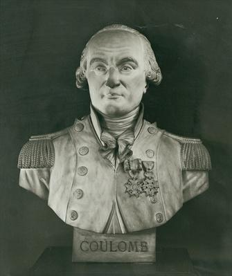 Bust of Charles de Coulomb