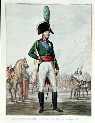 Portrait of Alexander I Pavlovich