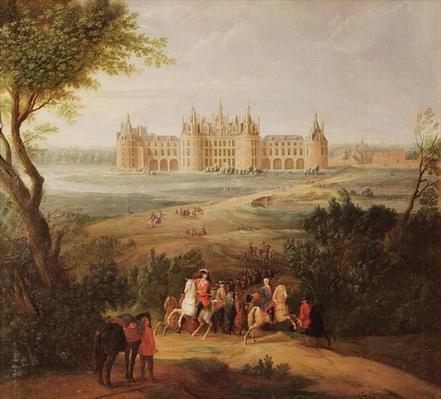 The Chateau de Chambord, 1722