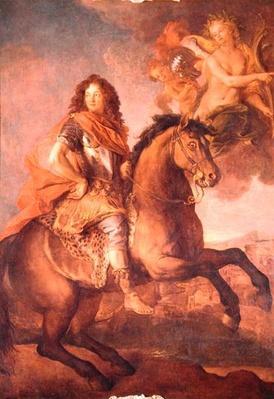 Portrait of Armand Jean Vignerot, Duc de Richelieu at the Siege of Castellamare in 1647