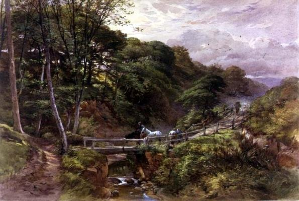 A Yorkshire Beck, 1865