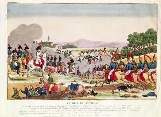 The Battle of Friedland, 14th June 1807