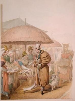 The Markets at Les Halles, 1831