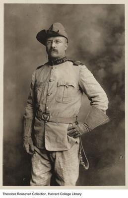 Theodore Roosevelt as Colonel of the Rough Riders, 1898 | Ken Burns: The Roosevelts