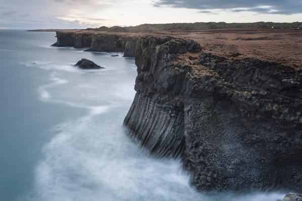 Basalt Cliffs, Arnastapi, Iceland | Earth's Surface