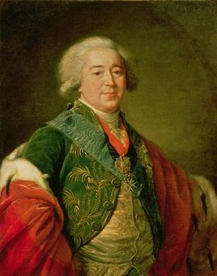 Portrait of Prince Alexander Borisovich Kurakin