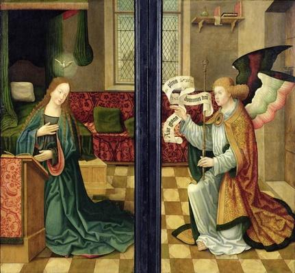 The Annunciation, Cologne School