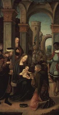 Adoration of the Magi, Cologne School