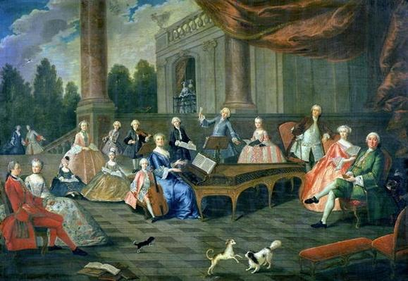 A Family Concert at Chateau Renescure