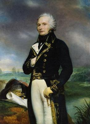 Portrait of Viscount Alexandre-Francois-Marie de Beauharnais