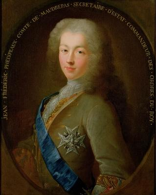 Portrait of Jean Frederic Phelypeaux