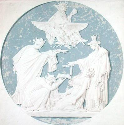 Design for a medallion depicting the glory of Napoleon