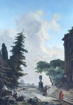 Terrace of a Roman Palace